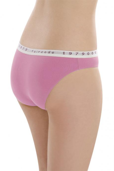 Comazo Biowäsche, Mini-Slip für Damen in pink - Rückansicht