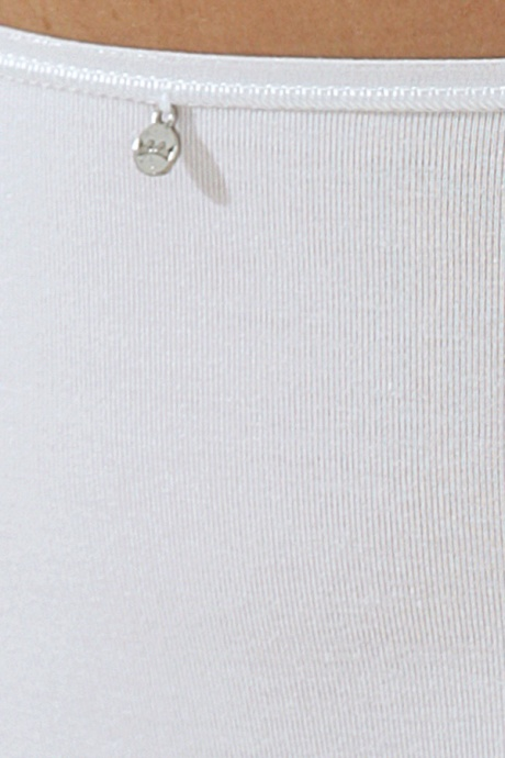 Comazo Unterwäsche, Midi-Slip für Damen in weiss - Detailansicht