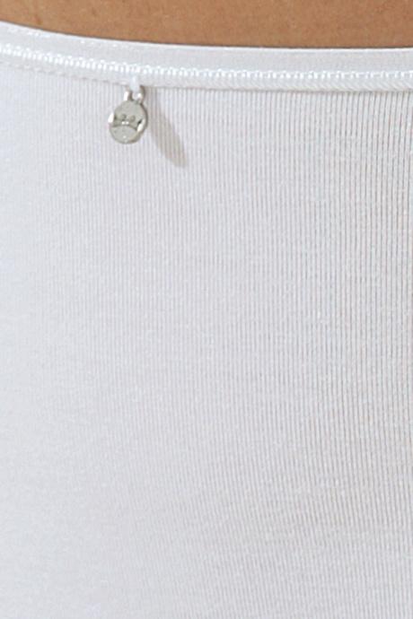 Comazo Unterwäsche, Maxi-Slip für Damen in weiss - Detailansicht