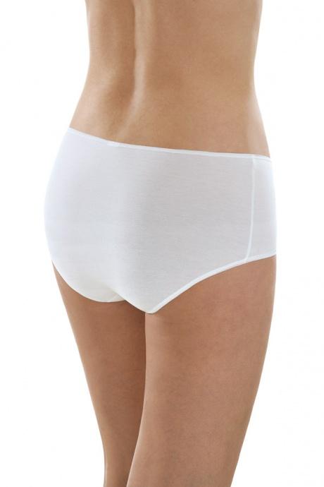 Comazo Unterwäsche, Maxi-Slip für Damen in weiss - Rückansicht