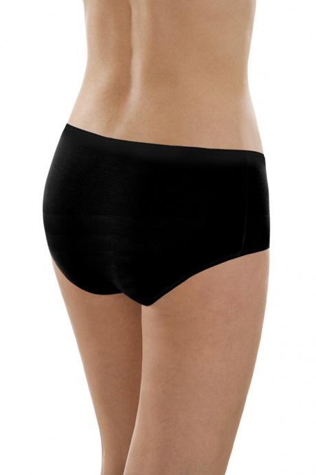 Comazo Unterwäsche, Maxi-Slip für Damen in schwarz - Rückansicht