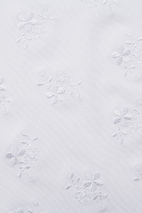 Comazo Unterwäsche, Bügel-BH mit Stickblümchen für Damen weiss - Detailansicht