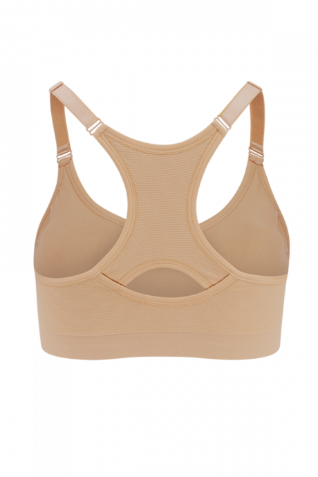 Comazo Funktionswäsche Damen Soft-BH in skin