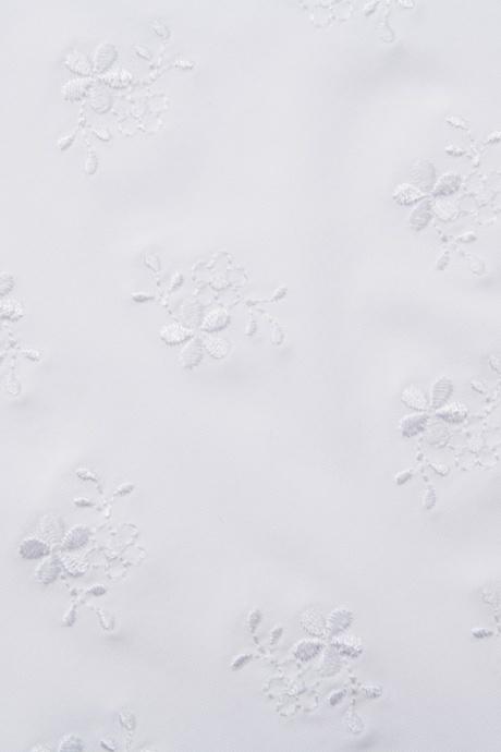 Comazo Unterwäsche, Padding-BH mit Stickblümchen für Damen weiss - Detailansicht