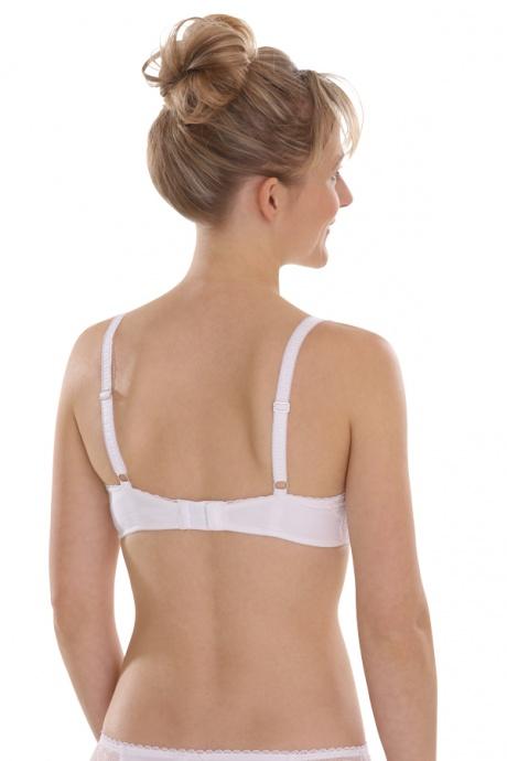 Comazo Lieblingswäsche BH für Damen in weiss - Rückenansicht