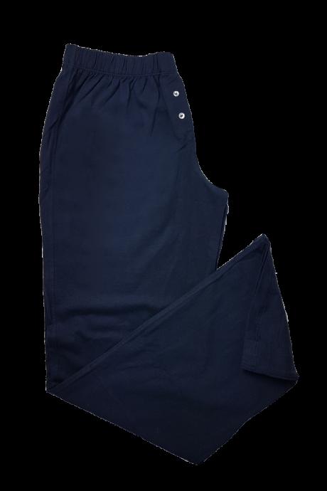 Comazo Lieblingswäsche Damen Nachtwäsche Schlafhose in marine