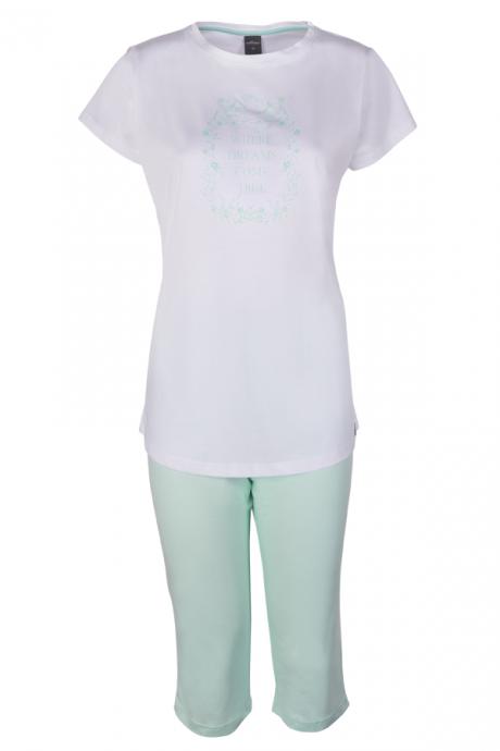 Comazo Lieblingswäsche Schlafanzug für Damen in weiss