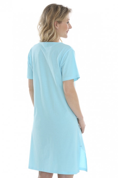 Comazo Biowäsche, Nachthemd für Damen in lagune