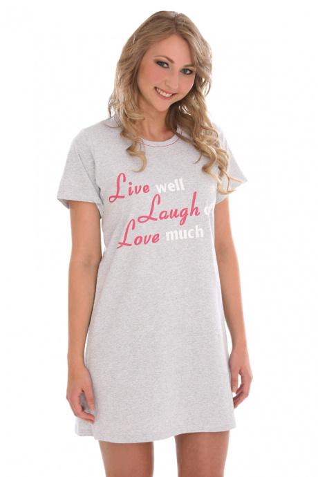 Comazo Nachtwäsche, Sleepshirt für Damen in bedruckt