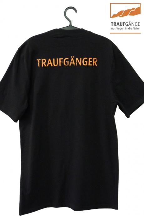 Comazo Biowäsche, Kurzarm Shirt für Herren in schwarz- Rückansicht