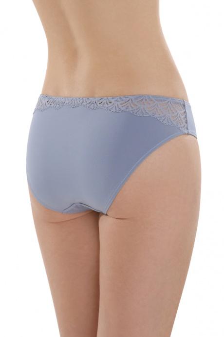 Comazo Lieblingswäsche Mini-Slip für Damen in eisblue - Rückansicht