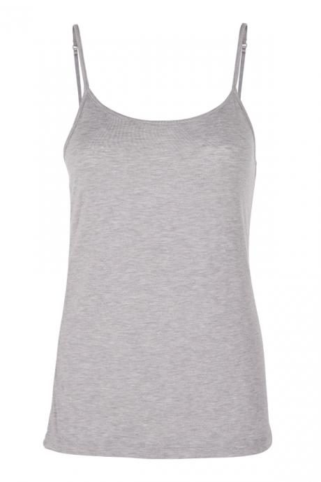 Comazo Lieblingswäsche Damen Unterhemd in grey