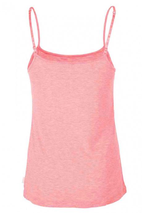 Comazo Lieblingswäsche Damen Unterhemd in rose