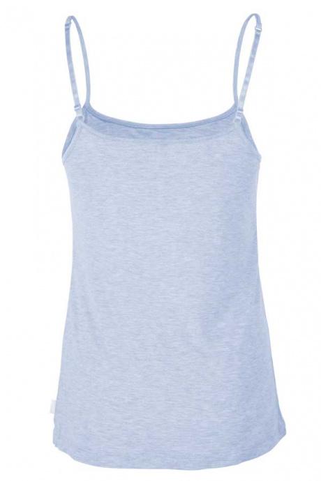 Comazo Lieblingswäsche Damen Unterhemd in bleu