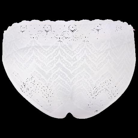 Unterwäsche Damen Mini-Slip in weiss Spitze