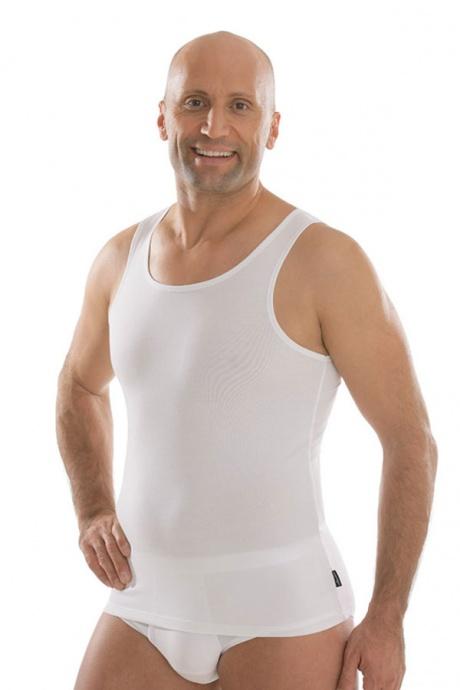 comazo|black Unterwäsche, Unterhemd in weiss - Vorderansicht