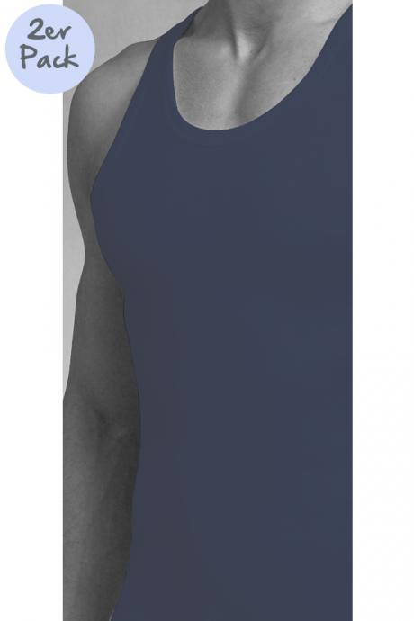 Comazo Lieblingswäsche, Unterhemd für Herren in marine