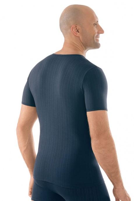Comazo Unterwäsche, Shirt kurzarm in navy - Rückansicht