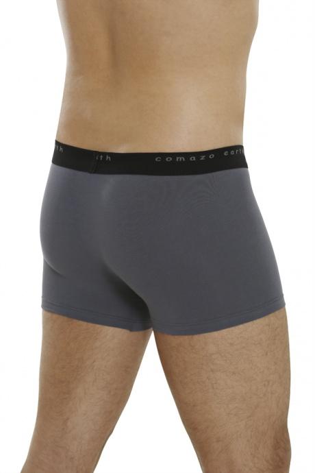 Comazo Biowäsche, Pants für Herren in anthrazit - Rückansicht