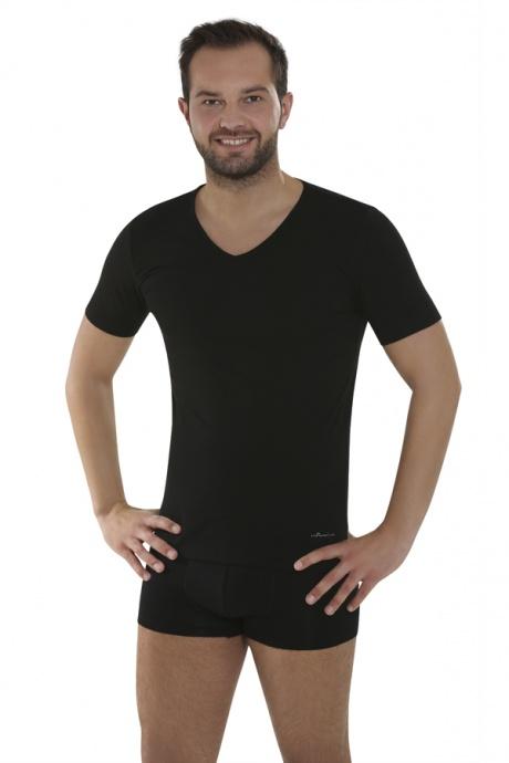 Comazo Biowäsche, Shirts für Herren in schwarz - Gesamtansicht