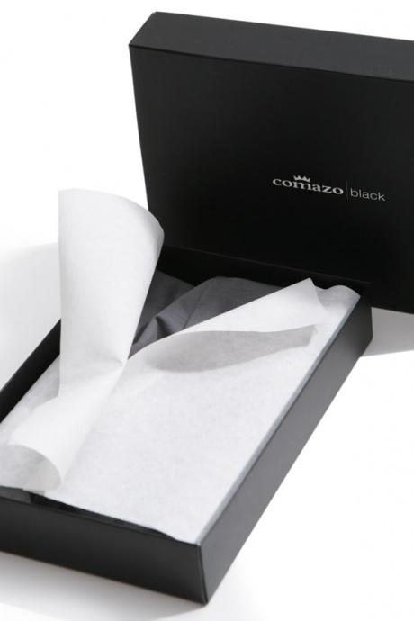 comazo black Unterwäsche, Shirt ohne Arm, darkgrey - Edle Verpackung