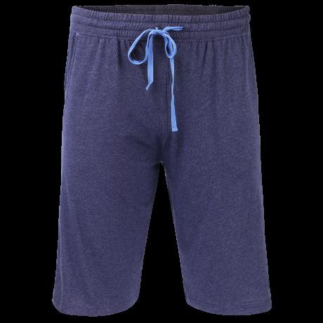 Comazo Lieblingswäsche Nachtwäsche Shorts in navy-meliert