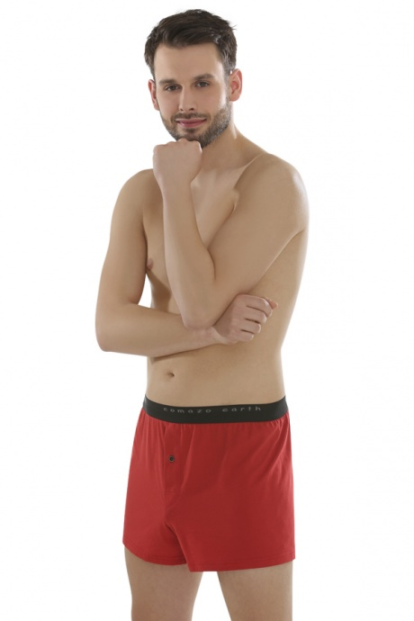 Comazo Biowäsche Fairtrade Boxer-Shorts in salsa
