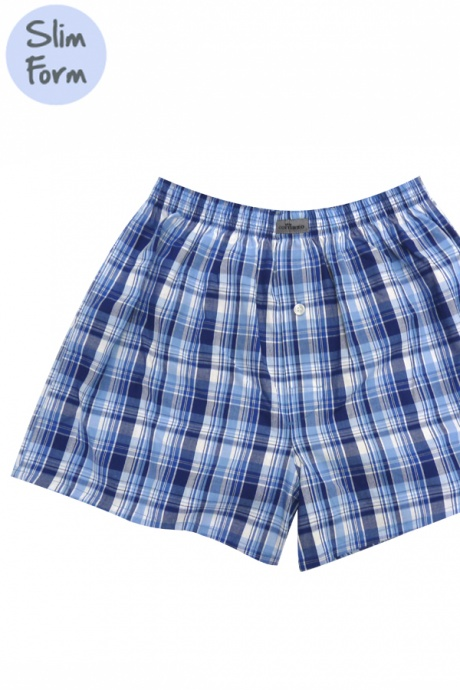 Comazo Lieblingswäsche, Herren Boxershorts in blau