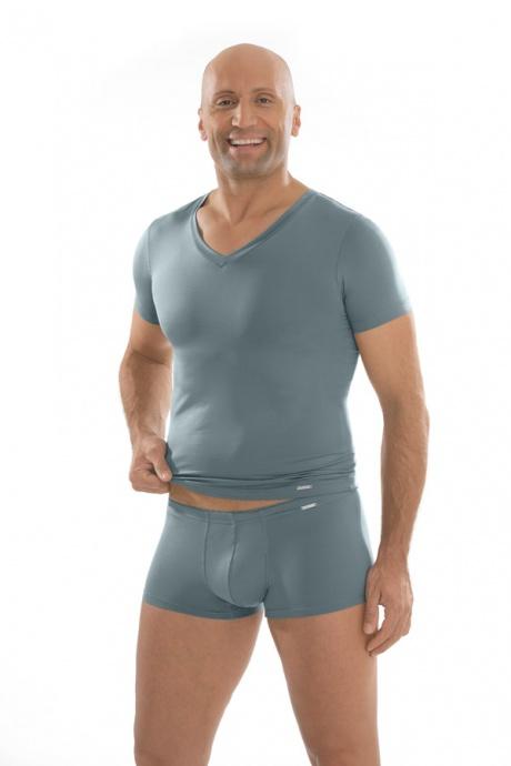Comazo Unterwäsche, Shirt kurzarm in silber - Gesamtansicht