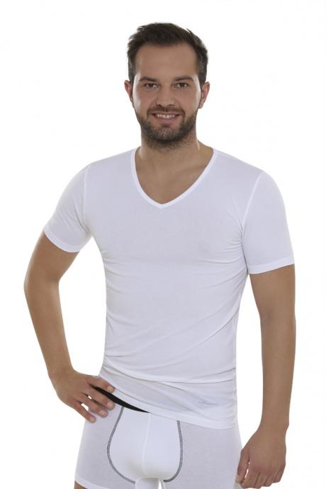 Comazo Biowäsche, Shirts für Herren in weiß - Vorderansicht
