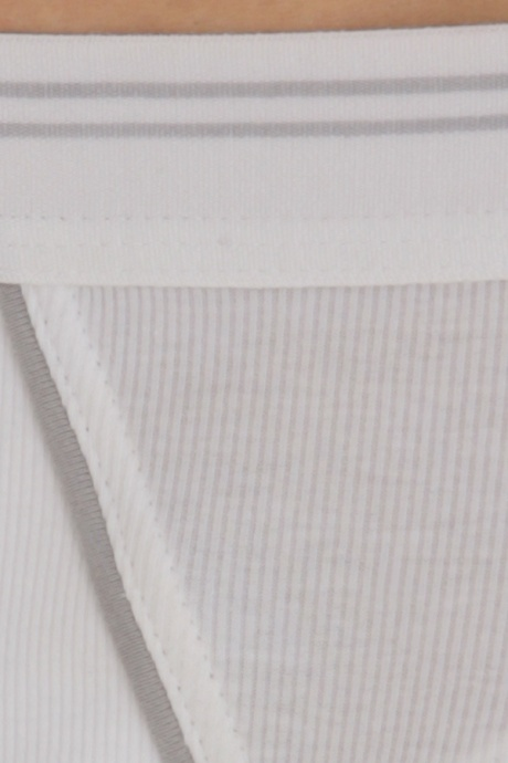 Comazo Biowäsche, Mini-Slip in weiss - Detailansicht