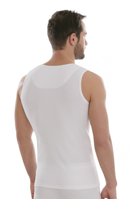 Comazo Biowäsche, Kurzarm Shirt in anthrazit - Rückansicht