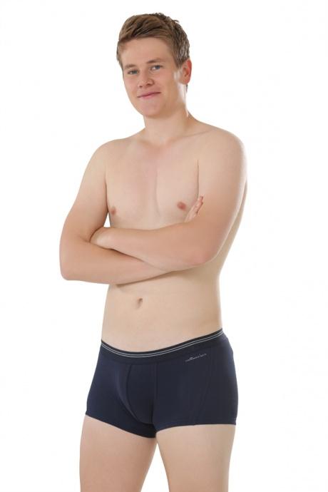 Comazo Biowäsche,Short-Pants für Herren in navy -  Gesamtansicht