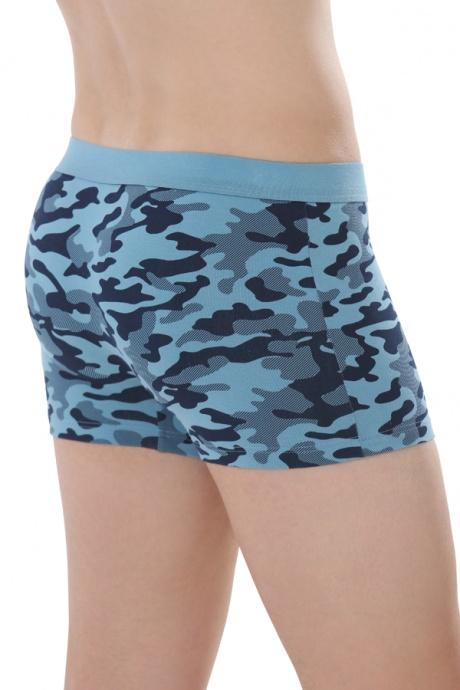 Comazo Biowäsche, Short-Pants für Männer in gewitter - Rückansicht
