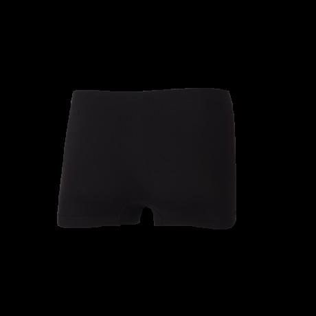 Comazo Funktionswäsche, Seamless Trunks in schwarz - Rückansicht