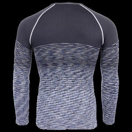 Comazo Unterwäsche Funktionswäsche Herren Shirt in indigo/ombre blue