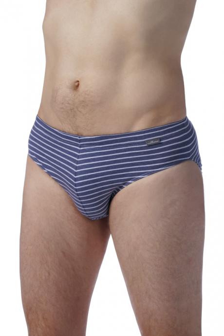 Comazo Unterwäsche für Herren Slip in blau