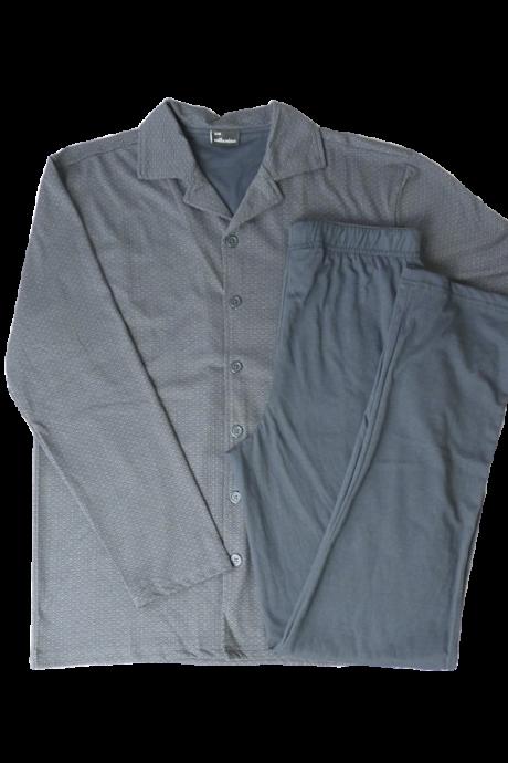 Comazo Lieblingswäsche Herren Schlafanzug in graphit