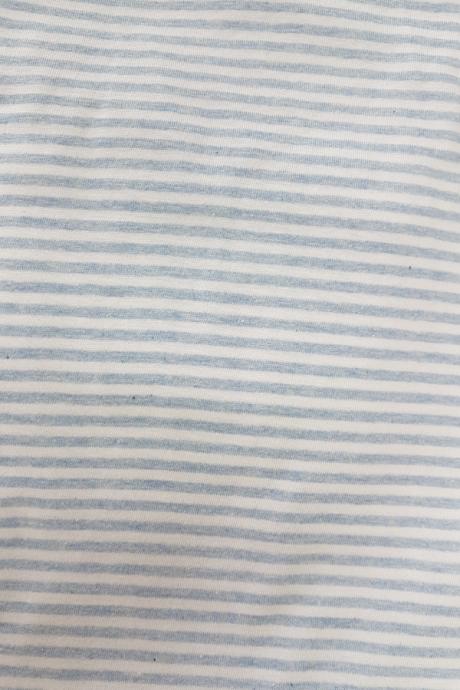 Comazo Nachtwäsche Damen Hose mit Bündchen  in blau-geringelt