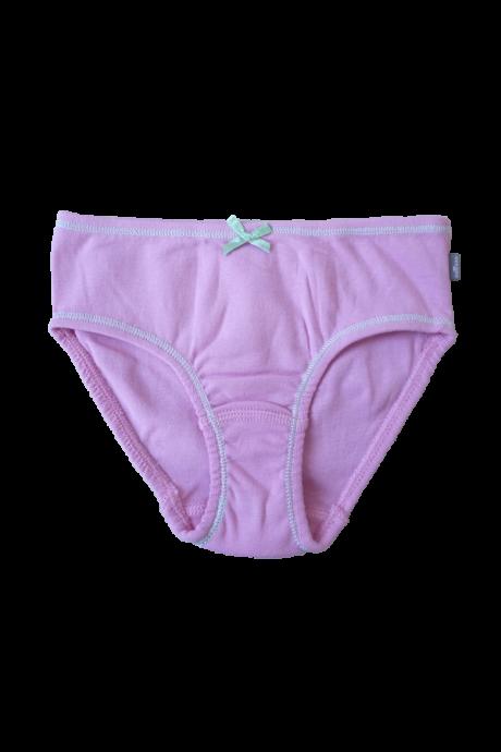 Comazo Lieblingswäsche Kindern Mädchen Slip mit Zierschleife in pink