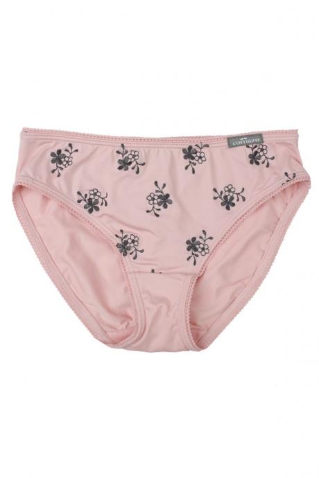 Comazo Unterwäsche, Slip für Mädchen, rosenquarz