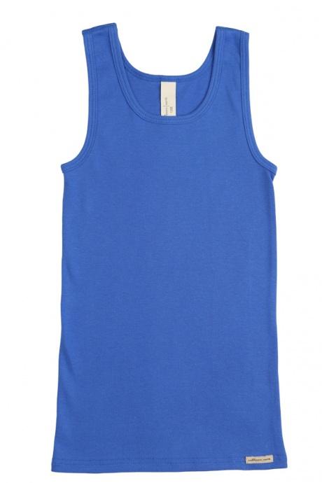 Comazo Biowäsche, Unterhemd für Mädchen und Knaben in see - Vorderansicht