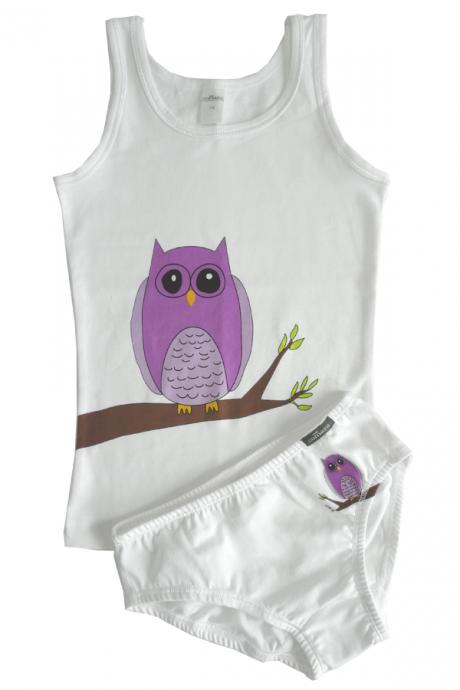 Comazo Lieblingswäsche, Unterhemd für Mädchen in weiss