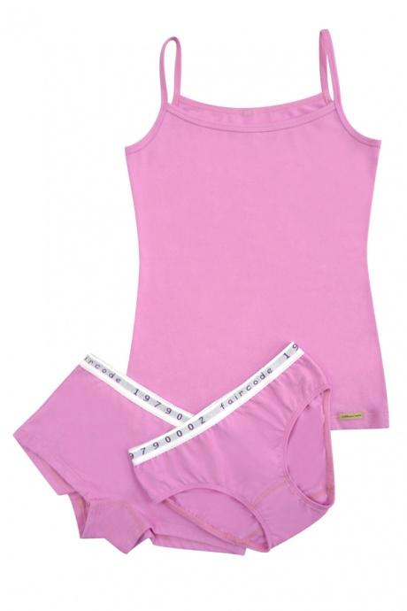 Comazo Biowäsche, Hot-Pants für Mädchen in pink - Image