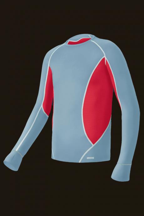 Comazo Lieblingswäsche Shirt langarm Kinder in rot