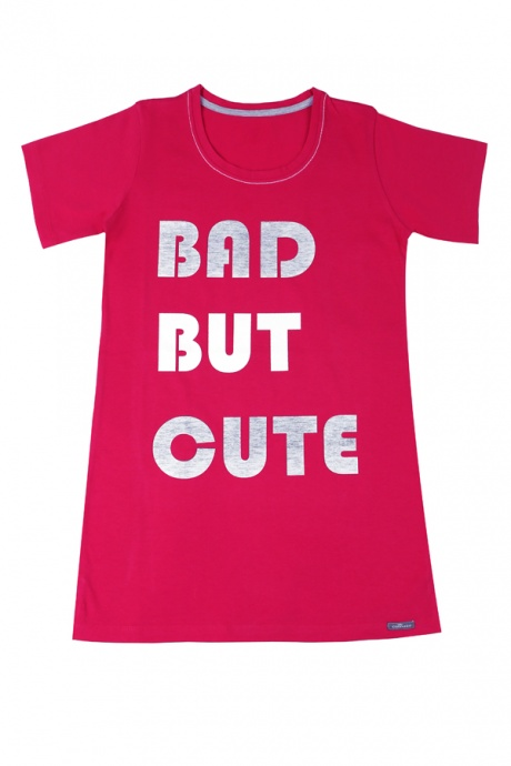 Comazo Lieblingswäsche, Sleepshirt, Nachthemd für Mädchen in pink