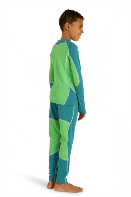 Comazo Lieblingswäsche, Shirt 1/1 Arm für Knaben in tiefseeblau - Rückansicht