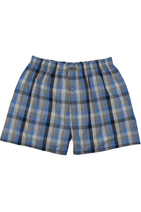 Comazo Unterwäsche, Boxer-Shorts für Knaben in eisblau- Vorderansicht