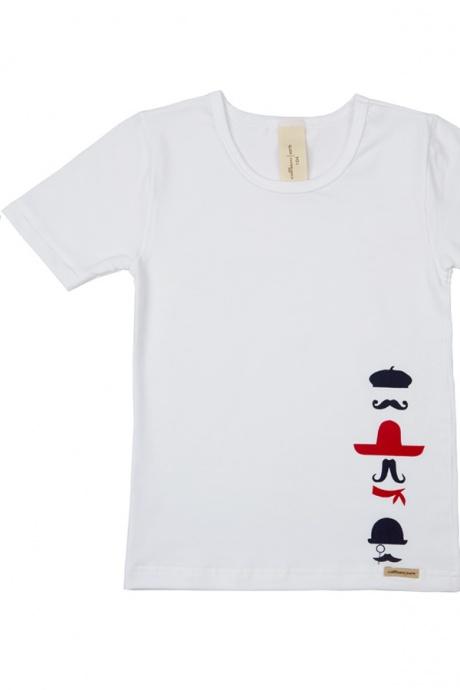 Comazo Biowäsche, Slip und Shirt für Jungen im Set in weiss