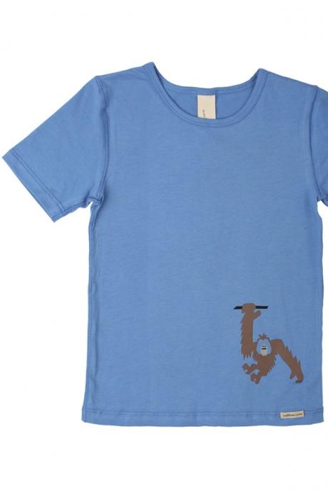 Comazo Biowäsche, Shirt für Jungen im 2-er Pack in türkis und eisblau
